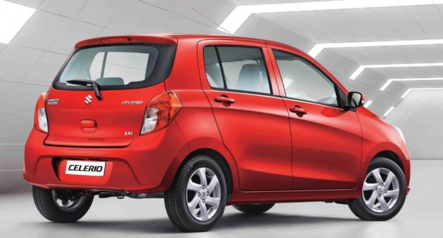 Suzuki Celerio Facelift Launched in India at INR 4.15 lac 2