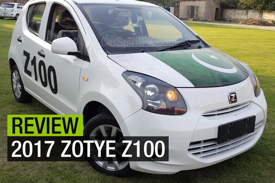 Review: 2017 Zotye Z100 1