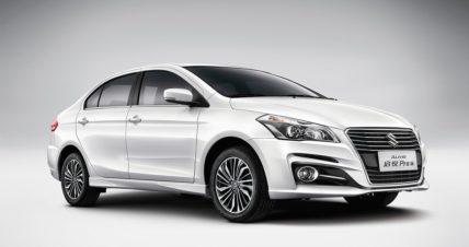 Suzuki Alivio Pro (Ciaz Facelift) launched in China 4