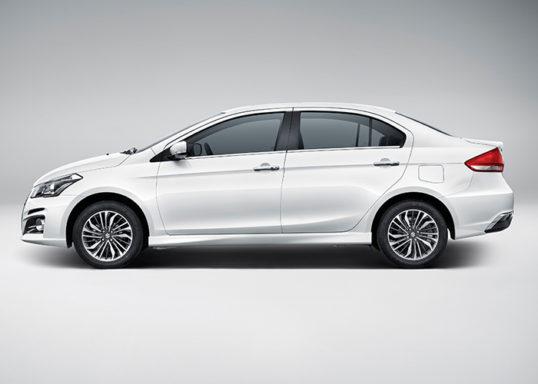Visual Comparison: Suzuki Alivio Pro (Ciaz) Pre-Facelift vs Facelift 2