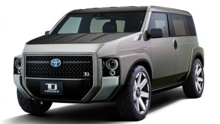 Toyota to Display Tj Cruiser Concept at Tokyo Motor Show 2