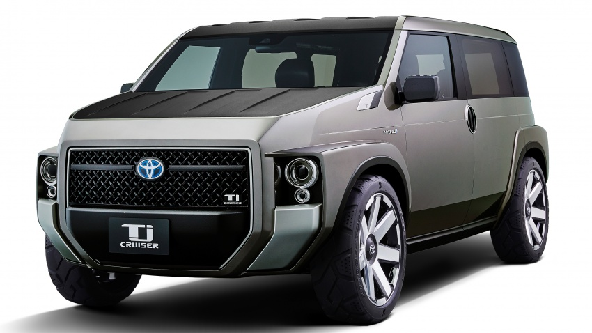 Toyota to Display Tj Cruiser Concept at Tokyo Motor Show 4