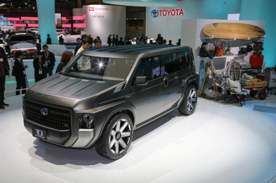 Toyota's Macho TJ Cruiser Concept to Go into Production 9