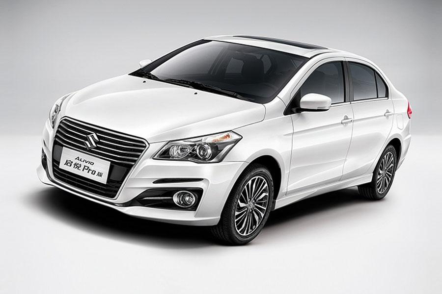 Suzuki Alivio Pro (Ciaz Facelift) launched in China 3