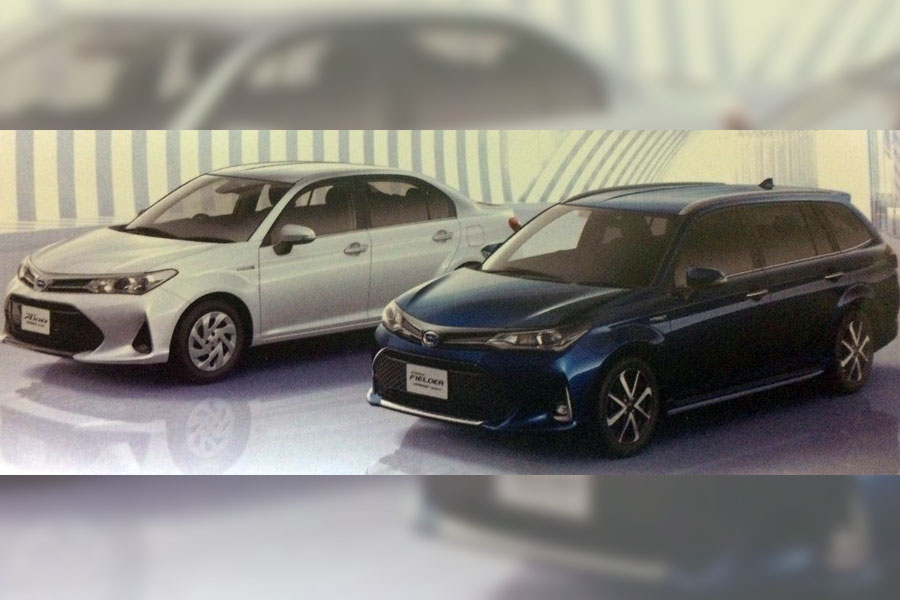 Toyota Corolla Axio & Fielder Minor Refresh Leaked 3