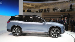 NIO will Launch the ES8 Electric SUV in December 8