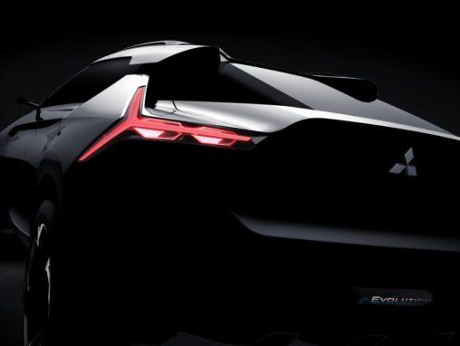 Mitsubishi e-Evolution Concept to be showcased at Tokyo Motor Show 3