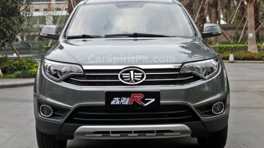 FAW R7 SUV Spotted Testing in Karachi 4