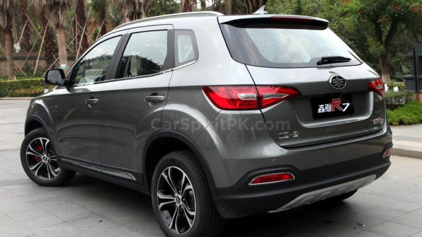FAW R7 SUV Spotted Testing in Karachi 5