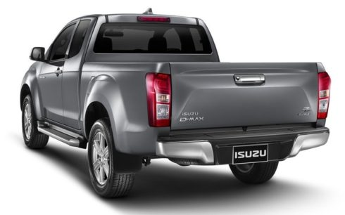 2018 Isuzu D-Max Facelift Officially Revealed in Thailand 8