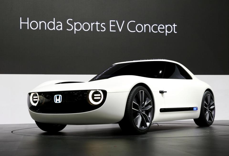 Honda Sports EV Concept at 2017 Tokyo Motor Show 9