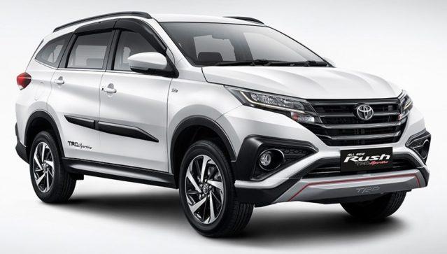 Comparison: Toyota Rush and Honda BR-V 4