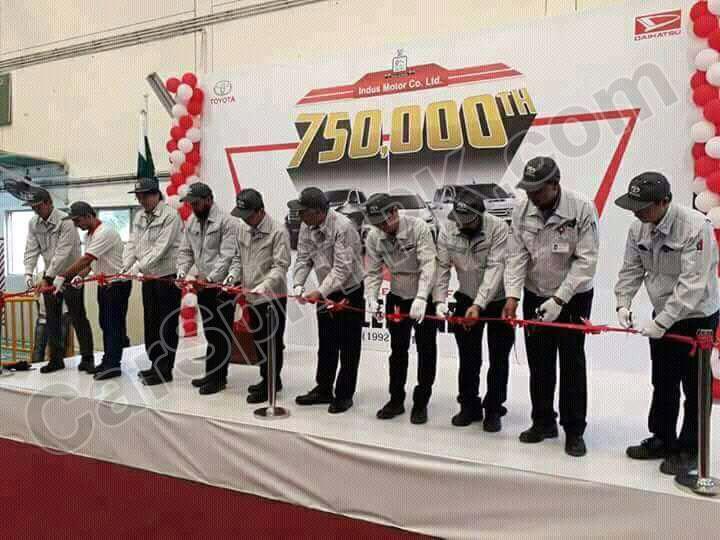 Indus Motors Celebrates Producing 750,000 Units 1