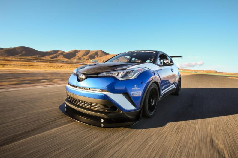 Toyota C-HR R-Tuned Claims 'World's Fastest Crossover' 10