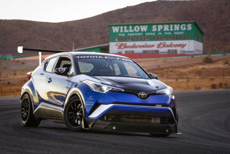 Toyota C-HR R-Tuned Claims 'World's Fastest Crossover' 2