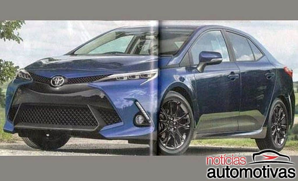 2019 Toyota Corolla Rendered by Japanese Media 10