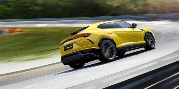 Lamborghini Urus Debuts As The World's Fastest SUV 6