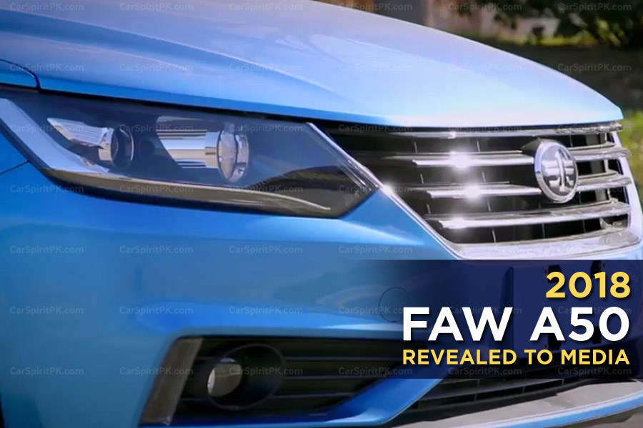 FAW A50 Revealed to Media 5
