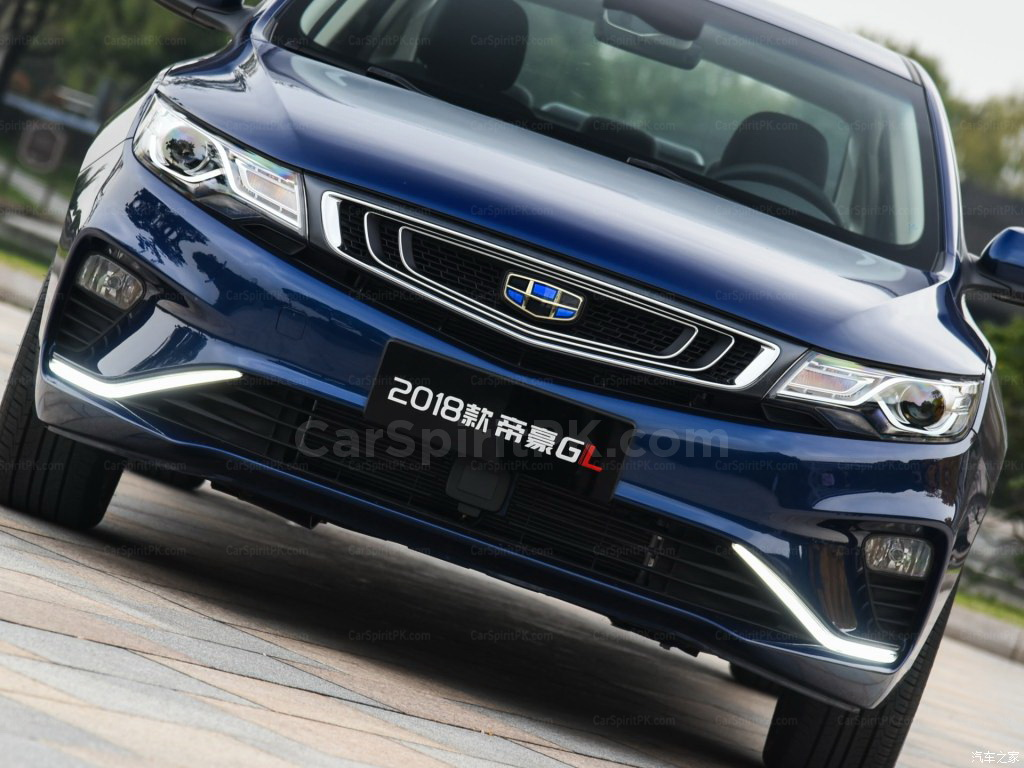 2018 Geely Emgrand GL Launched in China 2