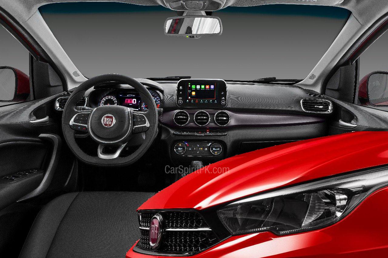 FIAT Cronos Interior Revealed 4