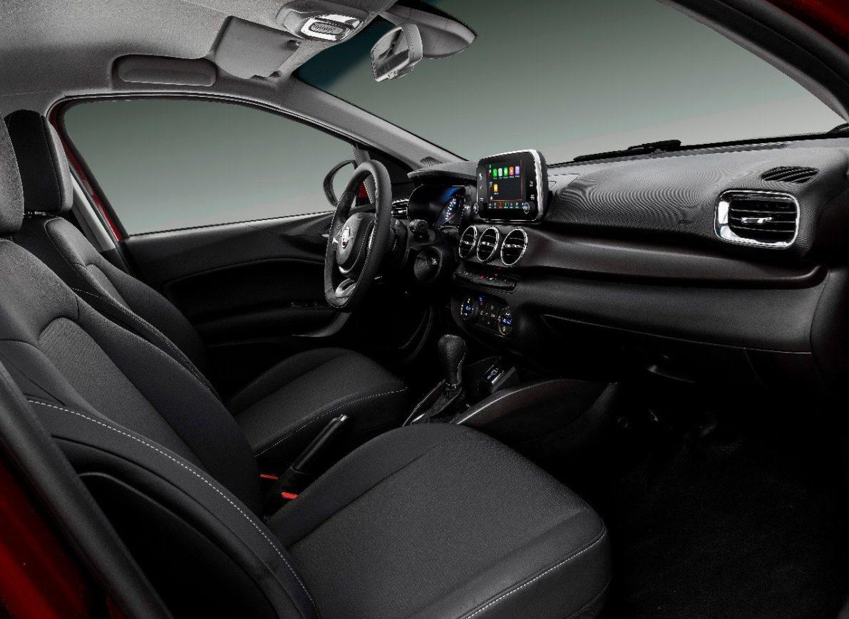 FIAT Cronos Interior Revealed 5
