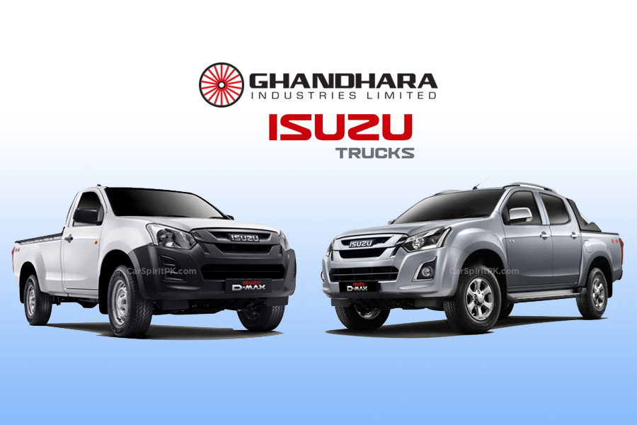 Ghandhara Offering 3S and 2S Dealerships for Isuzu Range of Vehicles 3