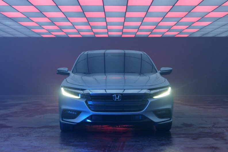 2018 Honda Insight Hybrid Prototype Revealed at Detroit 7