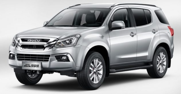 Isuzu MU-X Facelift Debuts in China 1