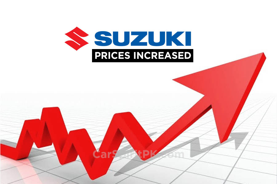 PakSuzuki Increase Prices From 1st January 2018 2