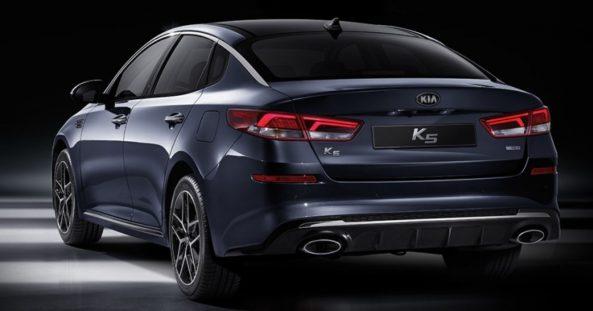 KIA K5 (Optima) Facelift Launched 2