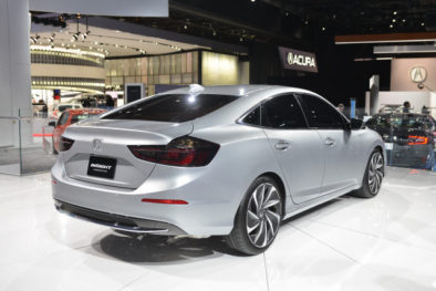 2018 Honda Insight Hybrid Prototype Revealed at Detroit 5