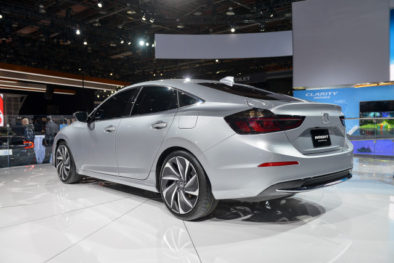 2018 Honda Insight Hybrid Prototype Revealed at Detroit 6