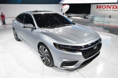 2018 Honda Insight Hybrid Prototype Revealed at Detroit 3