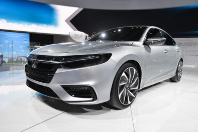 2018 Honda Insight Hybrid Prototype Revealed at Detroit 2