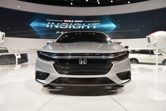 2018 Honda Insight Hybrid Prototype Revealed at Detroit 1