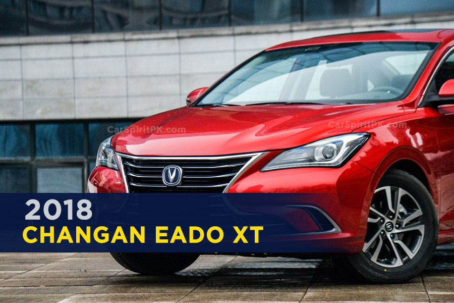 The 2018 Changan Eado and Eado XT 2