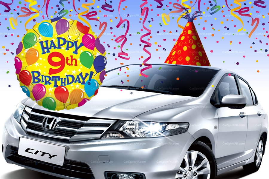 Happy Birthday Honda City 2