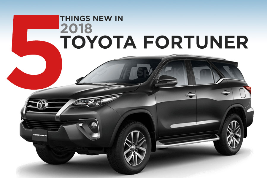 5 Key Features of the New 2018 Toyota Fortuner 2