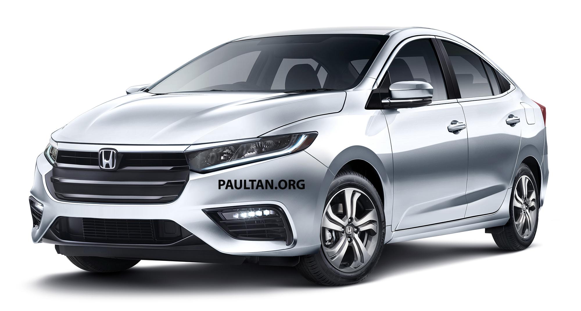 Next Generation Honda City Renderings 6
