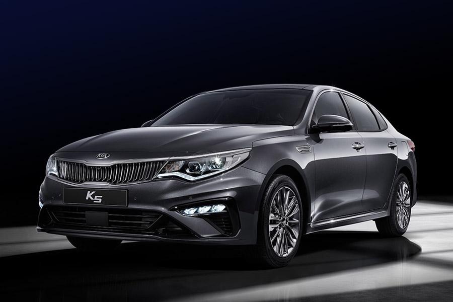 KIA K5 (Optima) Facelift Launched 6