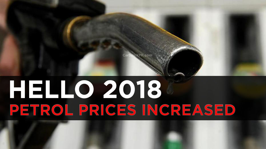 Petrol Prices Increased From 1st January 2018 7