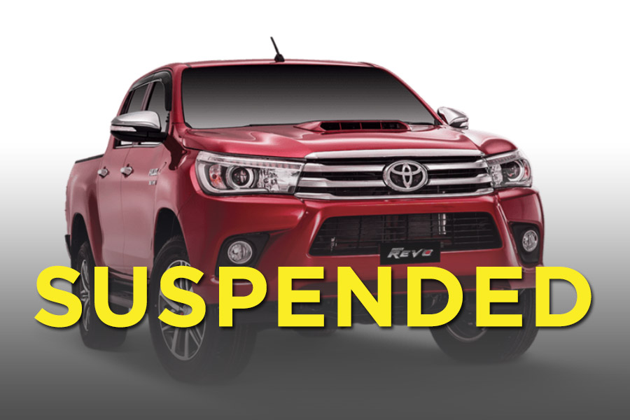 Production of Hilux Revo 3.0 Temporarily Suspended 9