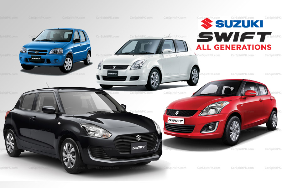 Suzuki Swift- All Generations 8