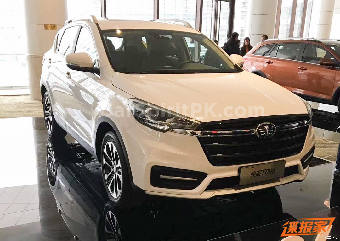 FAW to Launch the new T086 SUV at Beijing Auto Show 2018 4