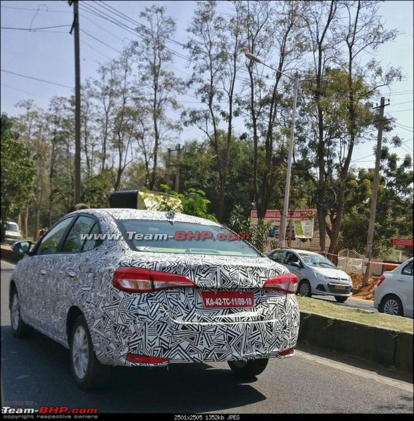 Toyota Vios Spied in India- Launched Expected by April 2018 2