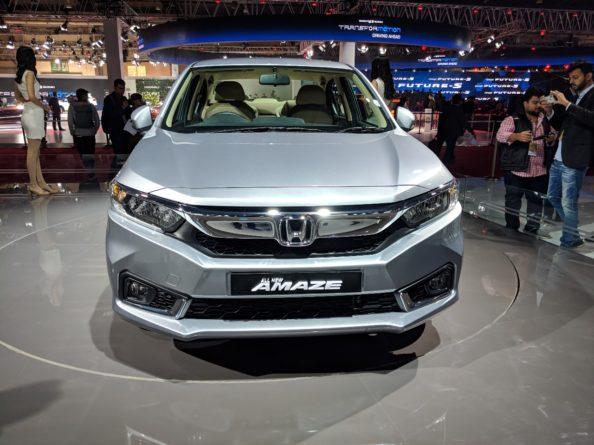 2018 Honda Amaze Debuts at Auto Expo 2