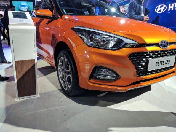 2018 Hyundai i20 Facelift at Auto Expo 2018 1