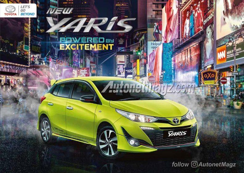 2018 Toyota Yaris TRD Sportivo Brochure Leaked 2