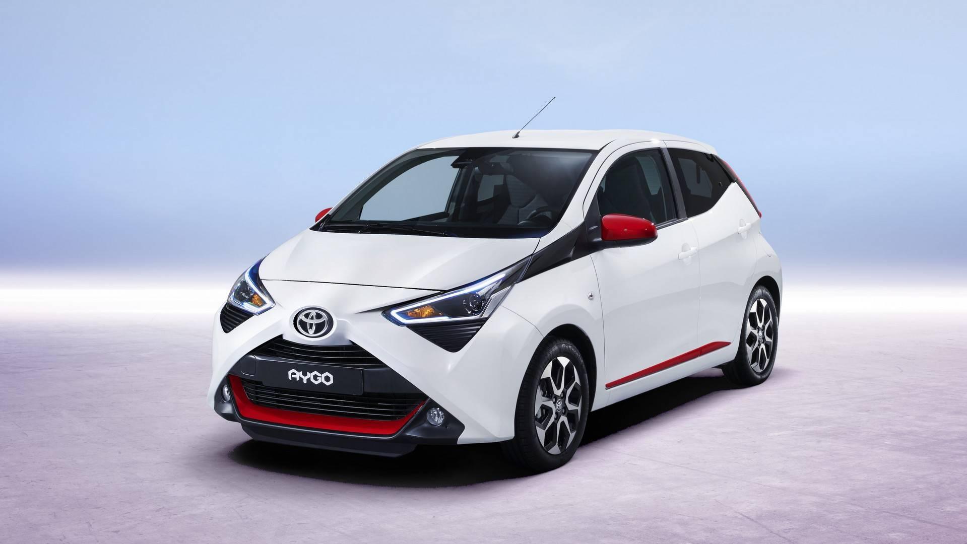 2018 Toyota Aygo Facelift Previews Ahead of Geneva 7