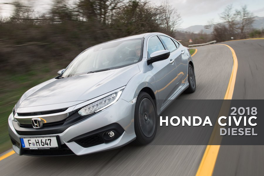 The New Honda Civic Diesel Delivers Best in Class Mileage 10